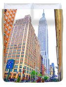 The Empire State Building 5 Duvet Cover