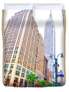 The Empire State Building 6 Duvet Cover