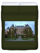 The Empress Hotel Duvet Cover