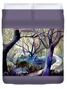 The Enchanted Path Duvet Cover
