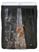 The End Of Fall Duvet Cover