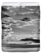 The End Of The Day, Old Hunstanton  Duvet Cover