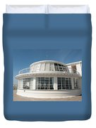 The End Of The Pier Duvet Cover
