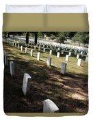 Arlington Tombstones Shade And Light Duvet Cover