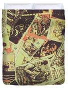 The English Postage Scene Duvet Cover
