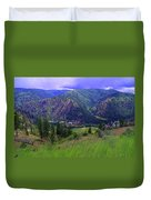 The Entiat Valley  Duvet Cover