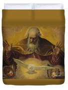The Eternal Father Duvet Cover by Paolo Caliari Veronese