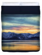 The Evening Colors Duvet Cover