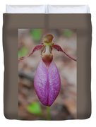 The Ever So Rare Ladyslipper Duvet Cover