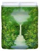 The Everlasting Rain Forest Duvet Cover