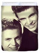 The Everly Brothers Duvet Cover