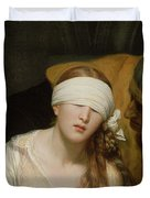The Execution Of Lady Jane Grey Duvet Cover