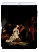 The Execution Of Lady Jane Grey In The Tower Of London In The Year 1554 Duvet Cover