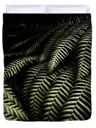 The Exotic Dark Jungle Duvet Cover