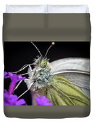 The Eye Of The Green-veined Butterfly. Duvet Cover