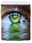 The Eye Of The Observer Duvet Cover