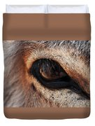 The Eye Of A Burro Duvet Cover