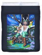 The Faery King Duvet Cover
