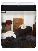 The Fainting Couch Duvet Cover