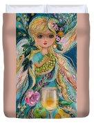 The Fairies Of Wine Series - Chardonnay Duvet Cover