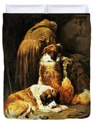 The Faith Of Saint Bernard Duvet Cover