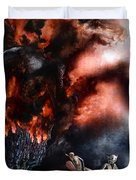 The Fall Of Azturath Duvet Cover