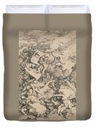 The Fall Of The Giants Duvet Cover