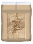 The Fall Of The Rebel Angels [recto] Duvet Cover