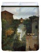 The Falls Of Tivoli Duvet Cover
