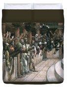 The False Witness Duvet Cover by Tissot