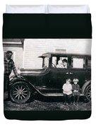 The Family Car Duvet Cover