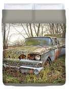 The Family Ford Duvet Cover