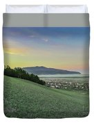 The Far Mountain Duvet Cover