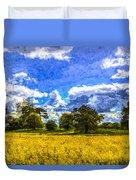 The Farm Art Duvet Cover