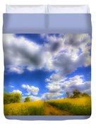 The Farm Art Vista Duvet Cover