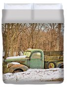 The Farm Truck Duvet Cover