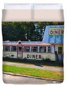 The Farmers Diner Duvet Cover
