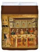 The Feast Of Herod And The Beheading Of The Baptist Duvet Cover