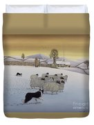 The Fells In Winter Duvet Cover