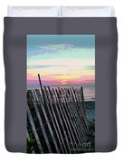 The Fence II  Duvet Cover