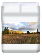 The Field Of Dreams Duvet Cover