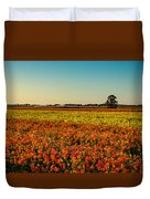 The Field Of Flowers Duvet Cover