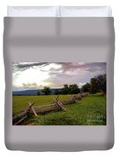 The Field Of Lost Shoes Duvet Cover