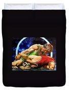 The Final Fight Duvet Cover