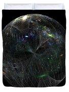 The Finite Universe Duvet Cover