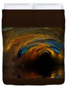 The Fire Caves Of Riagle Duvet Cover