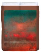The Fire Clouds Duvet Cover