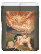 The First Book Of Urizen, Plate 22 Duvet Cover