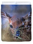 The First Fawn Duvet Cover