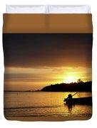 The First Sunrise Duvet Cover